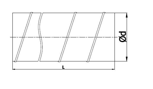 Rysunek kanał spiralny 80-224