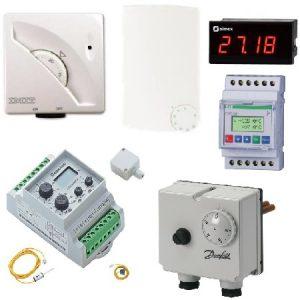 Termostaty i regulatory temperatury